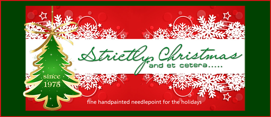 welcome to strictly christmas needlepoint designs - Strictly Christmas Needlepoint