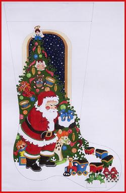 cs 286 sg - Strictly Christmas Needlepoint