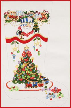 cs 509 - Strictly Christmas Needlepoint